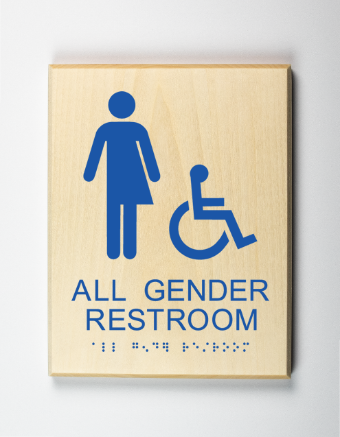 Accessible All Gender Restroom