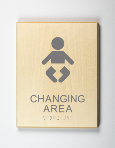 Baby Changing Table Sign