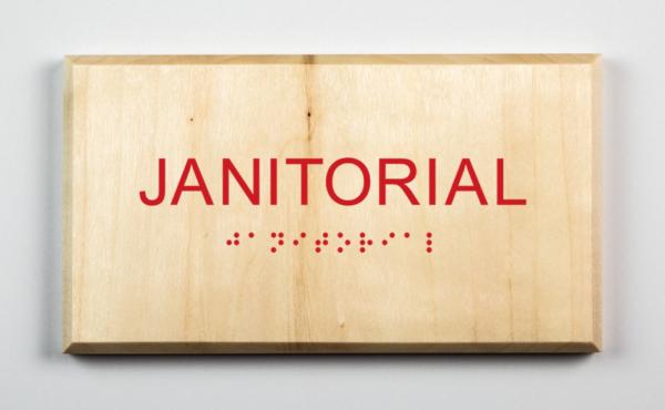 Janitorial Sign