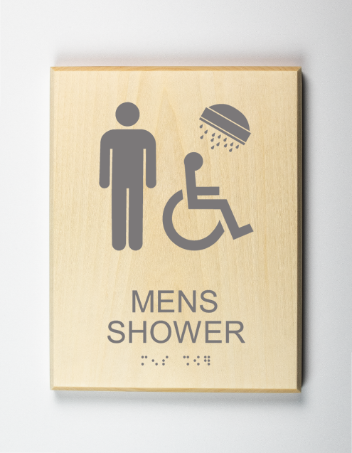 mens SHOWER SIGN