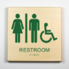 Unisex Bathroom Sign, Accessible