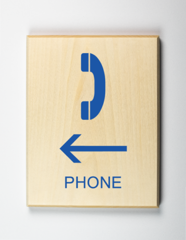Phone to Left Sign