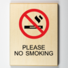 No Smoking Sign, Environmentally Friendly