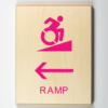 Accessible Ramp to Left