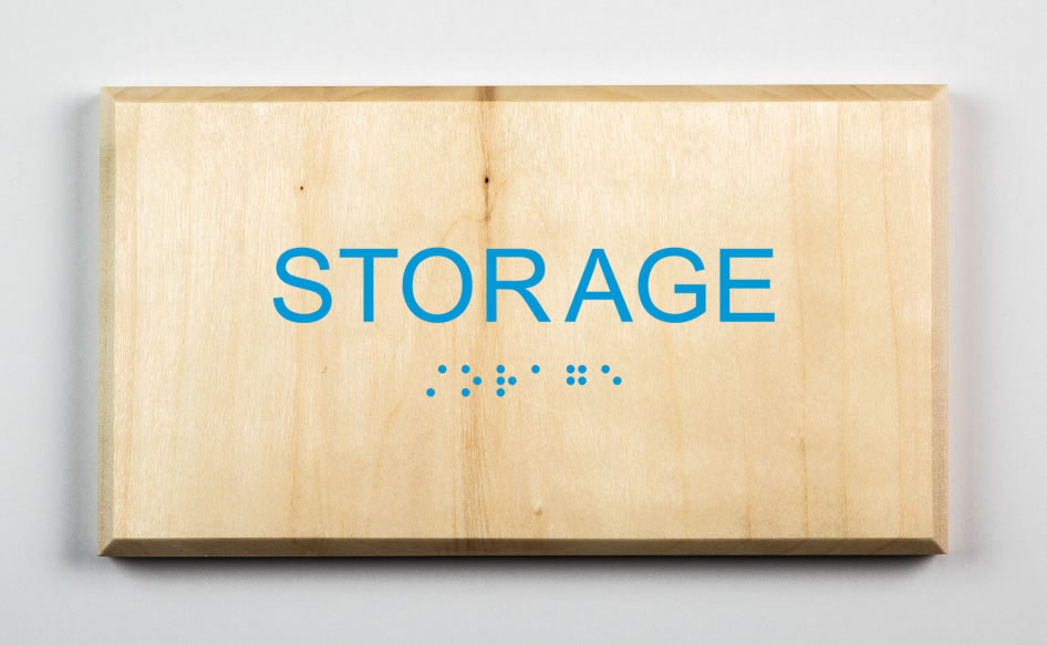Storage Room Sign-light-blue