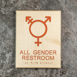 Green Dot Sign - TransGender Sign