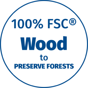 FSC Wood Used in our Door Signs to Preserve Forests