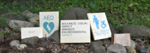Office room signs, ADA compliant, Sustainably Made in the US