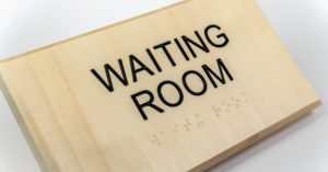 Office Room Sign - Waiting Room