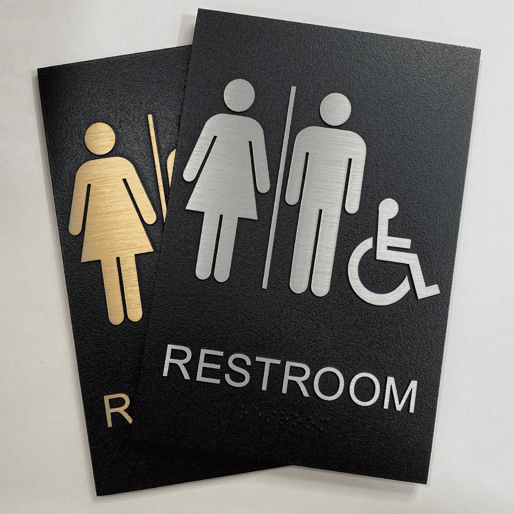 Exterior ADA Signs for Sign Specifications Page