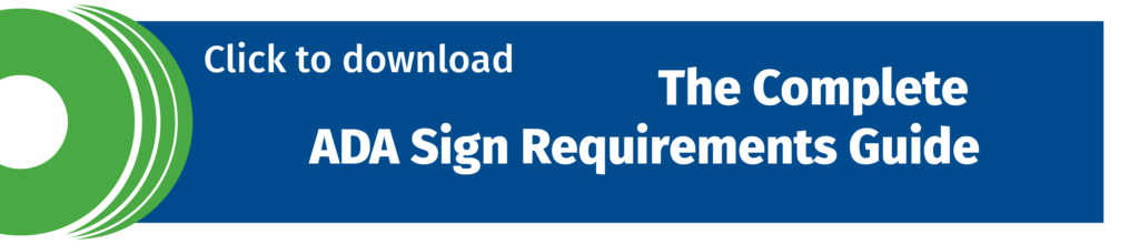 click to download the complete ADA sign requirements guide
